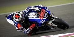 Jorge Lorenzo en el circuito de Losail de Qatar/ lainformacion.com