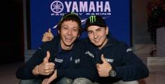 Jorge Lorenzo y Valentino Rossi/ Yamaha