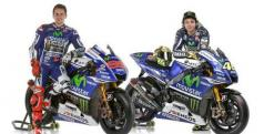Lorenzo y Rossi con sus Yamaha/ lainformacion.com