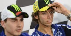 Jorge Lorenzo y Valentino Rossi/ lainformacion.com/ EFE