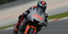 Jorge Lorenzo en Sepang/ Yamaha