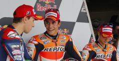 Podio de MotoGP en Indianápolis