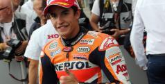 Márquez se lleva la pole en Silverstone