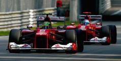 Felipe Massa y Fernando Alonso en Monza/ lainformacion.com