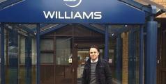 Felipe Massa en el cuartel de Williams/ Instagram