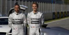 Hamilton y Rosberg/ lainformacion.com