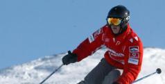 Michael Schumacher esquiando