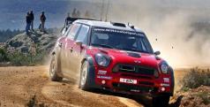Dani Sordo en su MINI WRC