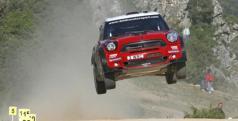 Dani Sordo con su MINI WRC