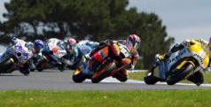 Grupo de pilotos de Moto2/ lainformacion.com/ Getty Images