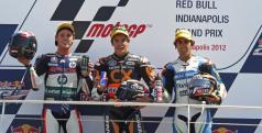Podio de Moto2 en Indianápolis/ Repsolmedia