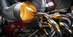 Motor de un Fórmula 1