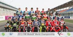 Los pilotos de MotoGP para 2013/ MotoGP