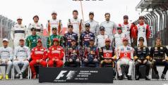 Los pilotos de la temporada 2011 de F1/ lainformacion.com/ Getty Images