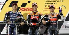 Podio MotoGP Qatar