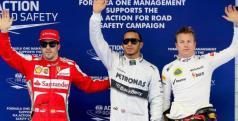 Hamilton, Raikkonen y Alonso en China/ lainformacion.com