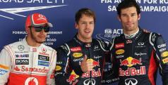 Vettel, Webber y Hamilton han sido los más rápidos