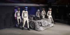 Los pilotos del WEC con el Porsche 919 Hybrid de LMP1