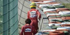 Alain Prost y Ayrton Senna en una de sus retiradas de carrera/ lainformacion.com
