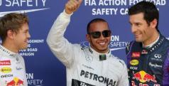 Hamilton, Vettel y Webber en Nurburgring/ lainformacion.com