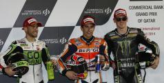 Márquez, Bautista y Smith
