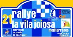 Cartel Rallye de la Vila Joiosa