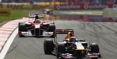 Red Bull y Ferrari