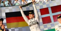 Nico Rosberg en el podio de Australia/ lainformacion.com