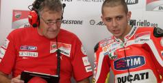 Rossi y Jeremy Burgess