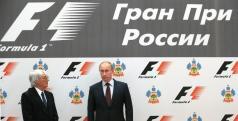 Putin y Ecclestone
