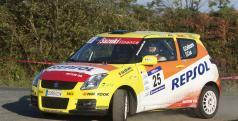 Cañizares en el Rallye de Ferrol
