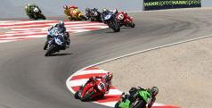 Las motos de SBK en Miller Motorsport Park