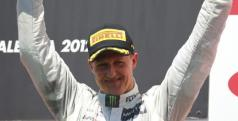 Michael Schumacher subió al podio en el GP de Europa de 2012/ lainformacion.com