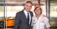 Sergio Pérez y Martin Whitmarsh/ McLaren