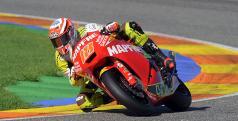 Nico Terol en su Moto2
