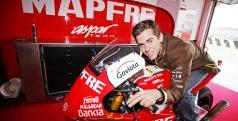 Nico Terol con Rogelia, la Moto2 con la que correrá la temporada que viene