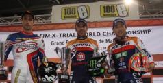 Toni Bou en lo más alto del podio en Mallorca
