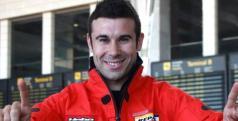 Toni Bou a su llegada a España