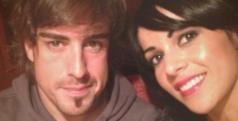 Fernando Alonso y Raquel del Rosario/ twitter.com