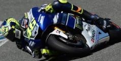Valentino Rossi en Jerez/ lainformacion.com/ EFE