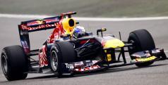 Red bull de Sebastian Vettel