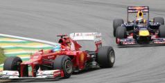 Vettel y Alonso en Brasil/ lainformacion.com/ EFE