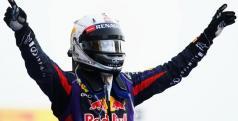 Vettel celebra su victoria en Bahrein/ lainformacion.com