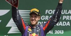 Vettel celebra su triunfo en Canadá/ lainformacion.com/ EFE
