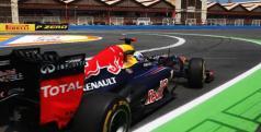 Sebastian Vettel en el Valencia Street Circuit/ lainformacion.com