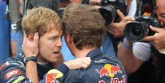 Sebastian Vettel y Christian Horner/ lainformacion.com