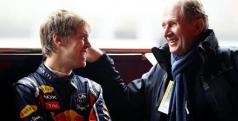 Sebastian Vettel y Helmut Marko/ lainformacion.com/ Getty Images