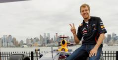 Sebastian Vettel en Nueva Jersey