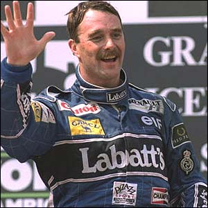 Nigel Mansell South Africa 1992